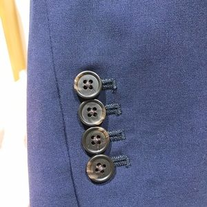 J. Crew Jackets & Coats - J Crew Navy Petite Campbell Bi stretch blazer